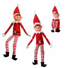 2 X Elves Behaving Badly Traditional Red Christmas Boy Elf on The Shelf