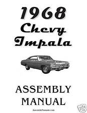 1968 Chevy Impala Assembly Manual 68