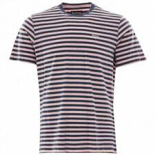 BNWT Barbour Delamere a Rayas T-Shirt chlak Rosa Azul Marino XL RRP £ 40 MTS0511PI32