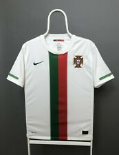 NIKE PORTUGAL NATIONAL 2010 2011 FOOTBALL SHIRT JERSEY AWAY SIZE YOUTH XL WHITE