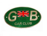 Car Club Oval GB Logo Sticker Decal Badge Great Britain Flag Universal Car GEc