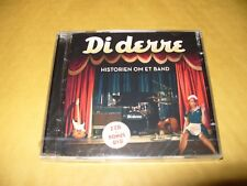 Di Derre Historien OM ET BAND 2 cd + dvd 2013 New & Sealed (Crack on cd case)