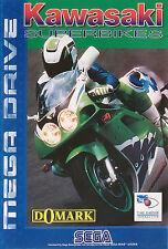 # Sega Mega Drive-kawasaki Superbikes-Top/MD juego #