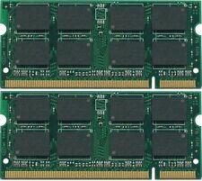 New! 4GB (2X2GB) DDR2-800 SODIMM Gateway LT Series Laptop Memory PC2-6400