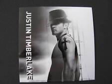 Justin Timberlake Jt Photo Bumper Bike B&W Music Board Sticker Hat