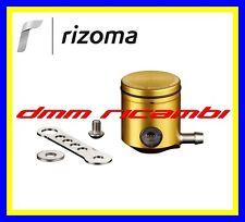 Serbatoio Olio Freno/Frizione Moto RIZOMA CT025 attacco laterale alluminio Oro