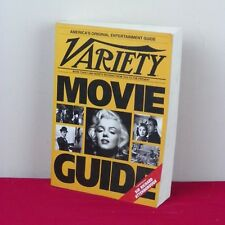 Variety Movie Guide Book 1907-1991 Entertainment Marilyn Monroe Charlie Chaplin