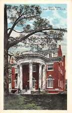 High Point North Carolina Elks Home Exterior Antique Postcard K14573