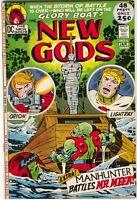 New Gods 6 DC 1972 NM- Jack Kirby Orion Martian Manhunter