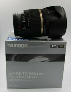 Obiettivo TAMRON 17-50 mm F/2.8 XR Di II VC SP per Canon EOS APS-C
