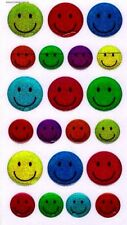 3D Crystal Stickers Smiley Face for Scrapbooking sticker Album school