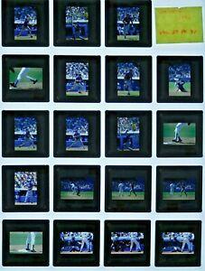 JTM6-16 1983 Baseball New York Mets Los Angeles Dodgers (19pc) ORIG 35mm Slides