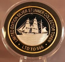 THE BOUNTY TALL SHIP SILVER STUNNER COIN - LIMITED EDITION 500 RELEASED