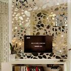 DIY 3D Acrylic Modern Mirror Decal Art Mural Wall Sticker Home Decor Removable