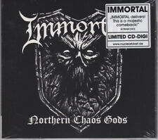 Immortal Northern Chaos Gods Limited Edition CD 2018 Nuclear Blast Digipak
