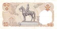 Thailand  10 Baht  ND. 1980  P 87  Series 7 D  Sign. # 52 Circulated Banknote