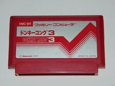 Famicom: Donkey Kong 3 HVC-DT (cartucho/cartridge)