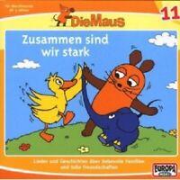 """DIE MAUS """"ZUSAMMEN SIND WIR STARK (FOLGE 11)"""" CD HÖRBUCH NEUWARE"""