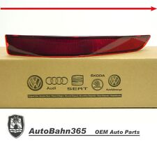 New Genuine OEM VW Rear Bumper Reflector Jetta 2015-16 MK6 Passenger Side Marker