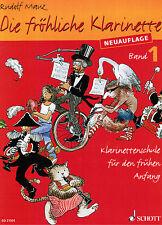 Klarinette Noten Schule : Die fröhliche Klarinette Band 1 Anfänger- Neuauflage