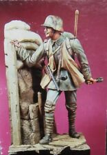 1/16 Resin Figure Model Kit German Soldier WWI with base Unpainted Unassambled