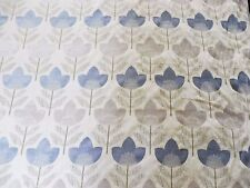 RADIANCE FABRIC - BLUE/NATURAL