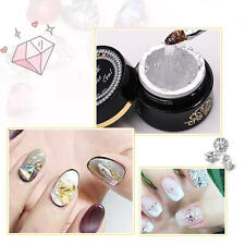 6g Soak Off UV Gel Rhinestone Jewelry Gems Nail Art Clear Glue Manicure Tool