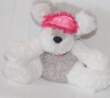 Barbie Sleepover Party Pups Dog Grey White Moves Head Barks musical Plush Kids