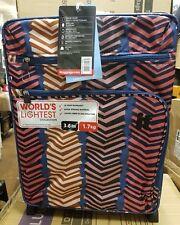 It Luggage Worlds Lightest Cabin 2 Wheel Chevron Print Suitcase 55cm