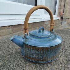 Troika rare tea pot, Sylvia Vallance.