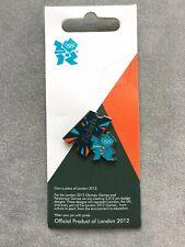 Billets pin badge sur carte | Londres 2012 Jeux Olympiques