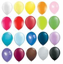 25pcs Latex Plain Balloons Helium Quality Wedding Birthday Party Decorations