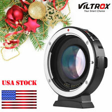 Viltrox Ef-M2Ii 0.71X Auto Focus Lens Adapter for Canon Eos Ef to Micro Mft,M4/3