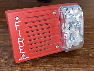 Simplex 4903-9148 Speaker Strobe (Red)