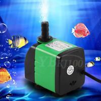 220-240V Submersible Fish Tank Aquarium Pond Fountain Water Pump 3/5/8/15/20W LJ