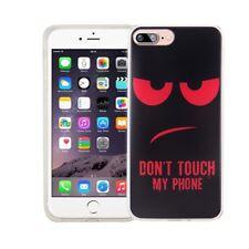 Étui de Portable pour Apple IPHONE 7 Plus Don'T Touch Rouge Housse Coque Motif