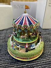 Liberty Falls The Carousel Comes To Town Musical Music Box Ah444 Fast Shipping
