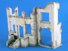 Verlinden 1/35 Ruined Street Building Section [Plaster Diorama Model kit] 2411