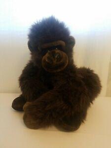 Vintage FAO Schwarz Plush Gorilla Monkey Large Plush Stuffed Animal
