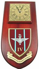 4 PARA 4TH BTN THE PARACHUTE REGIMENT CLASSIC  HAND MADE TO ORDER WALL CLOCK