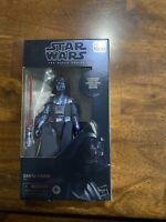 "Star Wars Black Series Carbonized Darth Vader 40th Empire Strikes Back 6"" Sealed"