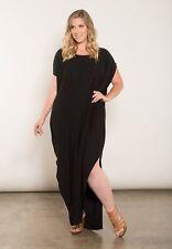 Sexy SWAK Designs Black Plus Size Lynette or Peyton Maxi Dress, Party Glamorous