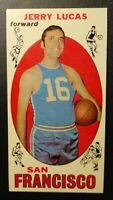 VINTAGE 1969 Topps Basketball - Jerry Lucas #45 Rookie Card (HOF)