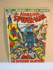 The Amazing Spiderman Marvel Vintage Comic 105 Feb The Spider Slayer  T*