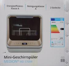 Tischgeschirrspüler Medion MD37004 Mini-Geschirrspüler Spülmaschine / Medion