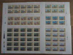 2003 Rumänien; 100 Serien Gemälde, postfrisch/MNH, MiNr. 5701/06, ME 1600,-
