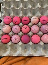 New listing 15 Callaway Pink Golf Balls-AAAAA