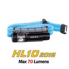 Fenix HL10 2016 Philip LED SPOT+FLOOD 70lms AAA Headlamp Flashlight Torch Black