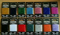 Glitter Embroidery Thread Metallic Lincatex ALL COLOURS (20% OFF WITH MULTI BUY)