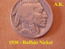 1930 - Buffalo Nickel  #1
